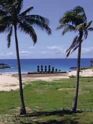 Am Strand von Anakena