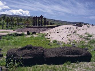 Moai Anakena