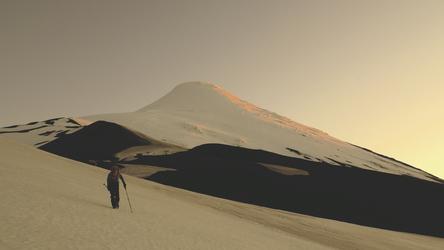 Vulkan-Trekking Osorno, ©Copyright 2012