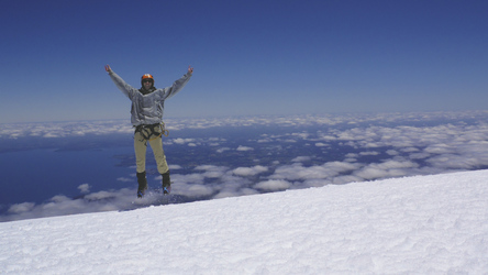 Auf dem Vulkan Osorno, ©Copyright 2012