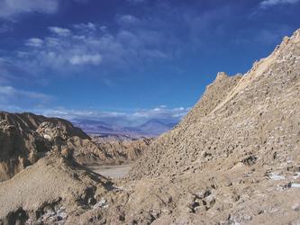 Mondtal bei San Pedro de Atacama