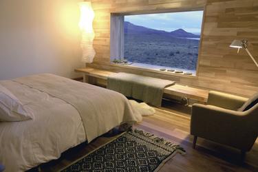 Hotel Tierra Patagonia, Zimmerbeispiel