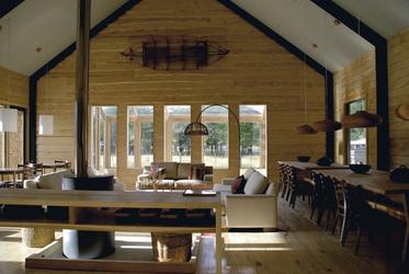 Robinson Crusoe Lodge - Aufenthaltsbereich