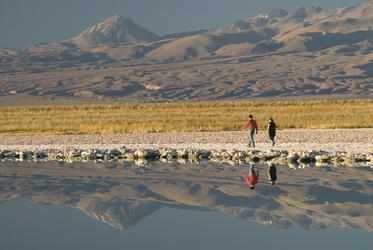 Ausflug in der Atacama-Wüste