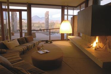Loungebereich im Tierra Atacama