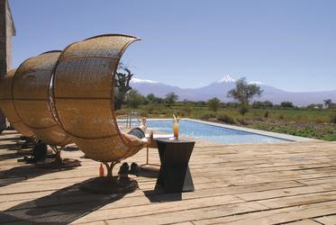 Pool im Tierra Atacama