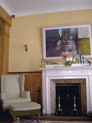 Lounge im Manoir Atkinson