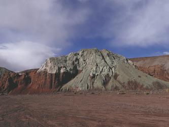 Rainbow Valley bei San Pedro de Atacama