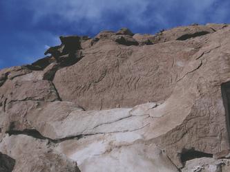 Petroglyphen in Hierbas Buenas