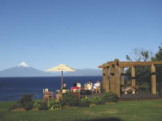Im Garten des Casa Molino Guesthouses