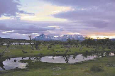auf dem Rio Serrano Richtung NP Torres del Paine