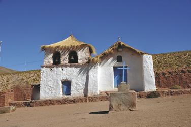 Kirche in Machuca
