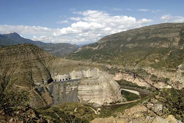Zusammenfluss von Rio Suarez und Sogamoso