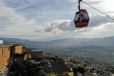 Panoramablick über Medellin