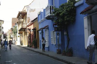 Straße in Cartagena