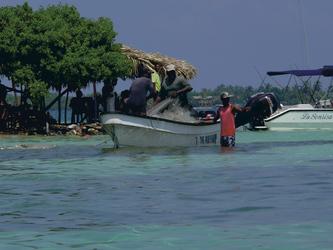 Fischer auf der Isla Mucucra