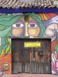 In der Altstadt von Bogota