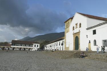 Hauptplatz in Villa de Leyva