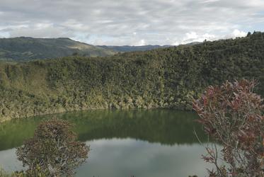Lagune Guatavita, ©Georg Rubin