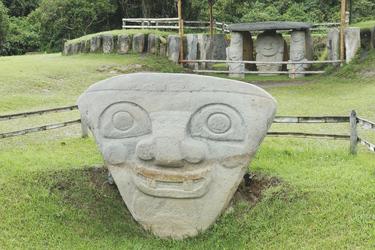 Archäologischer Park San Agustin, ©Georg Rubin