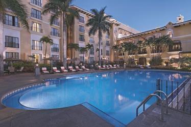 Pool des Marriott