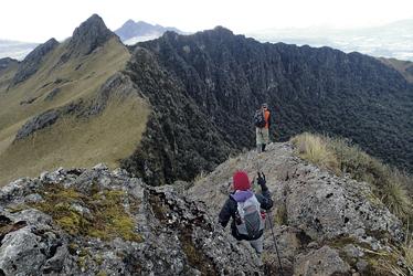 Pasochoa Gipfel
