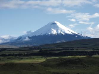Der Cotopaxi bei bester Sicht