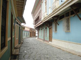 Viertel Las Peñas in Guayaquil