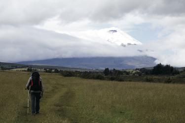 Blick auf den Cotopaxi