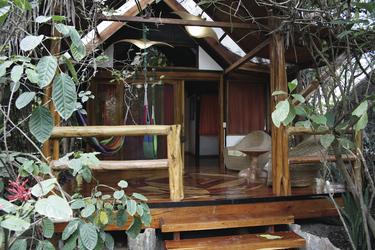 Bungalow in der Hosteria Mandala
