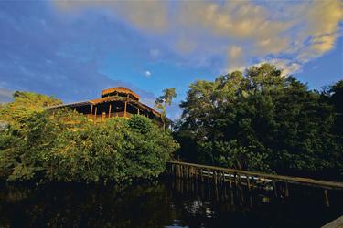 Haupthaus - La Selva Ecolodge ©Haugan Cruises