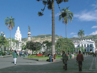 Plaza de la Independencia, Quito