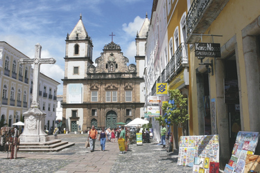 Viertel Pelourinho in Salvador ©South American Tours