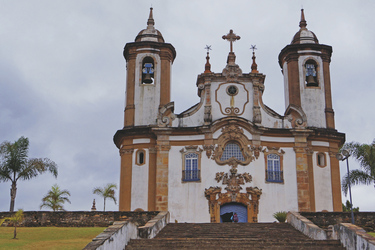 Kirche in Ouro Preto ©South American Tours