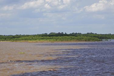 Zusammenfluss vom Rio Negro ©South American Toursund Rio Solimoes, ©South American Tours