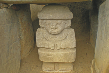 Steinfigur in San Augustin ©South American Tours, ©South American Tours