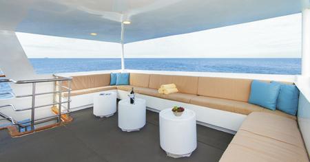 Lounge auf dem Sonnendeck, ©FORO7