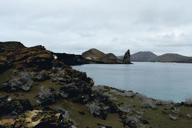 Bartholome, Pinnacle Rock,  Galapagos