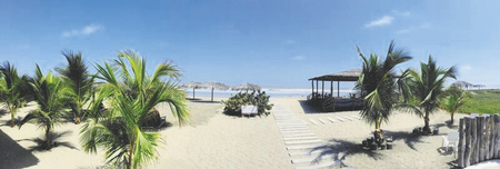 Strand am Hotel Playa Paraiso