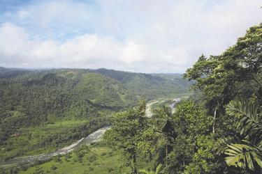 Rio Blanco bei Mindo