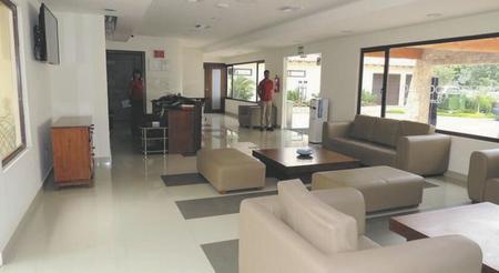 Rezeption Hotel Playa Paraiso