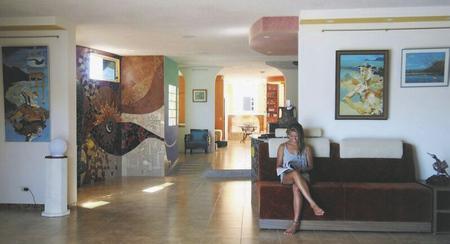Lobby im Hotel Katarma