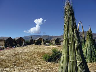 Titicacasee, Insel der Uros