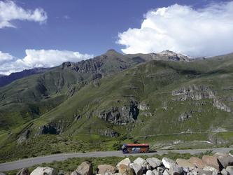 auf dem Weg nach Colca