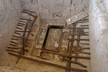 Grab des Herrn von Sipan