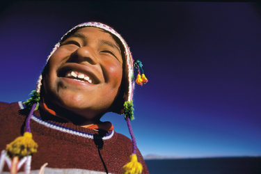 Junge in Peru