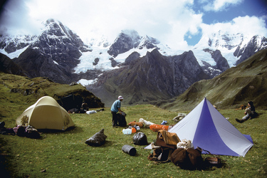 Camping in der Laguna Carhuacocha