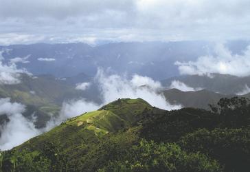 in der Region Chachapoyas/Leymebamba