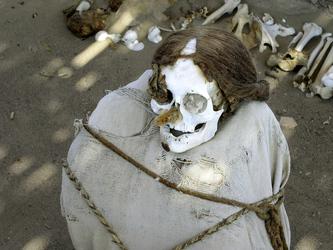 Mumienfriedhof Chauchilla, Nasca