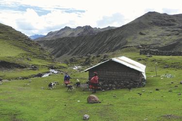 Wanderung bei Huacawasi